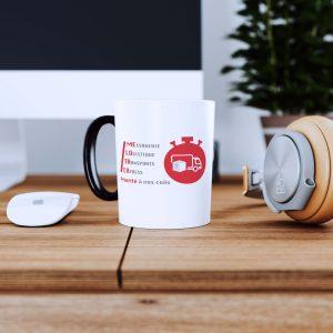 Mug avec logotype Melotrex par Creagenzia Mérignac