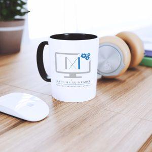 Mug avec logotype MatsinAssistance par Creagenzia Mérignac